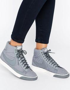 Серые кроссовки Nike Blazer Premium - Мульти