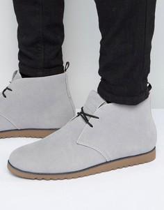 Ботинки чукка D-Struct - Серый