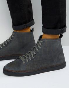 Высокие кроссовки Rule London - Серый