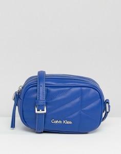 Черная стеганая сумка через плечо CK Jeans - Синий Calvin Klein