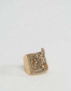 Кольцо в египетском стиле ASOS - Золотой