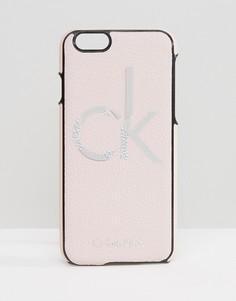 Чехол для iPhone 6/6s с логотипом Calvin Klein - Розовый