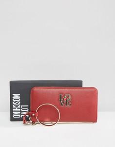 Кошелек Love Moschino - Красный