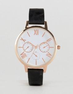 Часы с большим циферблатом ASOS - Черный