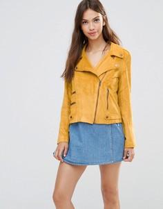 Байкерская куртка Minkpink - Бежевый