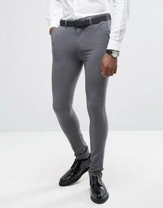 Супероблегающие брюки Rogues of London - Серый
