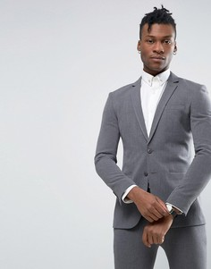 Супероблегающий пиджак Rogues of London - Серый