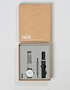 Часы со сменным ремешком ASOS - Мульти