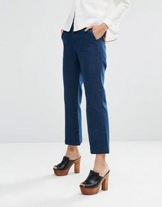 Расклешенные джинсы в стиле 70‑х с нашивками‑звездами на карманах M.i.h Jeans Coler - Синий