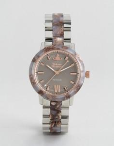 Часы в мраморном стиле Vivienne Westwood VV165BRSL - Мульти