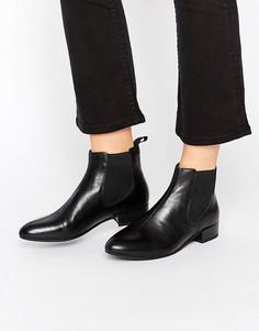 Черные кожаные ботинки челси Vagabond - Черный