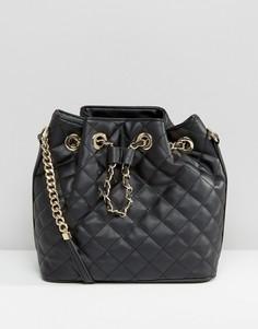 Стеганая сумка дафл Aldo - Черный