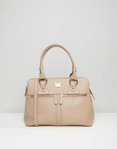Кожаная сумка‑тоут Modalu Pippa - Бежевый