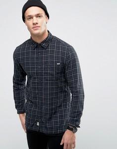 Рубашка классического кроя в клетку Jack & Jones Vintage - Черный