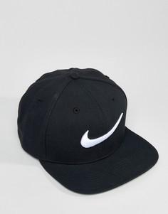 Черная бейсболка Nike 639534-011 - Черный