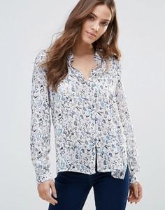 Рубашка с цветочным принтом Vero Moda Elena - Мульти