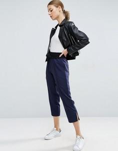 Прямые спортивные брюки ASOS - Синий