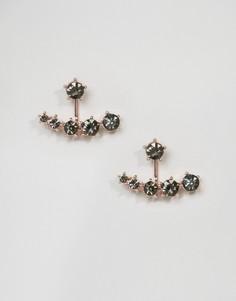 Серьги-подвески с камнями ASOS - Медный