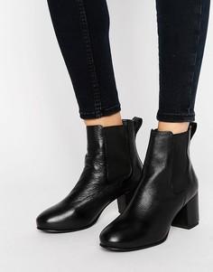 Ботинки челси на среднем каблуке Park Lane - Черный
