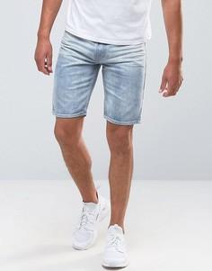 Выбеленные джинсовые шорты Bellfield - Темно-синий