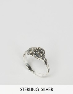 Серебряное кольцо с отделкой ASOS - Серебряный