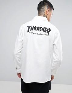 Куртка HUF x Thrasher Chore - Белый
