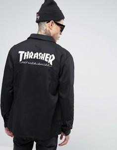 Куртка HUF x Thrasher Chore - Черный
