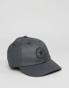 Черная кепка металлик Converse CON327 - Черный