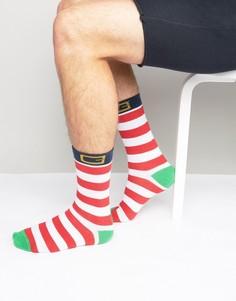 Рождественские носки с эльфийским дизайном SSDD - Зеленый