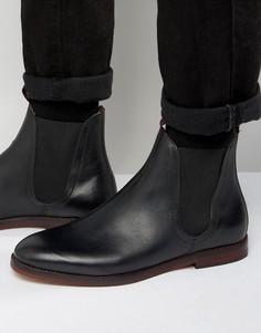 Кожаные ботинки челси Hudson London Tamper - Черный