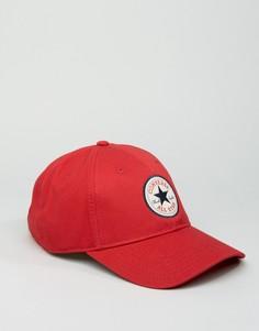 Красная кепка Converse Core CON301 - Красный