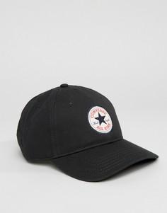 Черная кепка Converse Core CON301 - Черный
