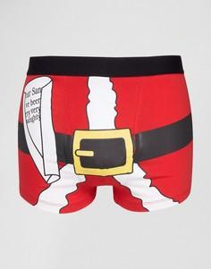 Новогодние боксеры SSDD - Красный