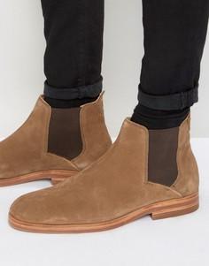Замшевые ботинки челси Hudson London Tonti - Рыжий