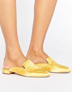 Балетки с квадратным носком ASOS LASHES - Желтый