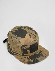 5-панельная кепка с камуфляжным принтом Artsac Workshop - Зеленый