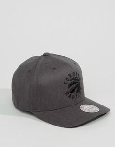 Бейсболка Mitchell & Ness Toronto Raptors - Серый