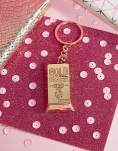Золотистый брелок для ключей Skinnydip - Мульти