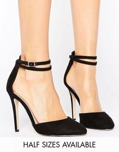 Туфли на высоком каблуке ASOS PLAYDATE - Черный