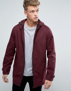 Легкая бордовая куртка-парка ASOS - Красный