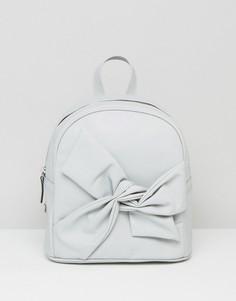 Рюкзак с бантом ASOS - Серый