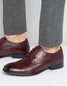 Кожаные туфли дерби Base London Ford - Красный