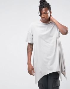 Серая oversize-футболка ASOS - Серый