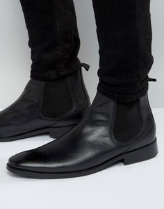 Кожаные ботинки челси Base London Cheshire - Черный