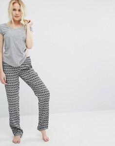 Пижамный комплект Undiz Addicted To Fraishiz Vantardiz - Серый