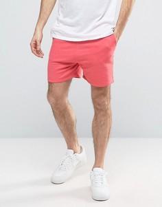 Розовые меланжевые шорты для бега ASOS - Розовый