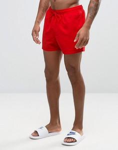 Красные короткие шорты для плавания ASOS - Красный