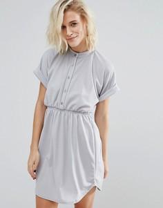 Платье на пуговицах Daisy Street - Фиолетовый