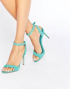 Босоножки на каблуке Aldo Carine - Зеленый