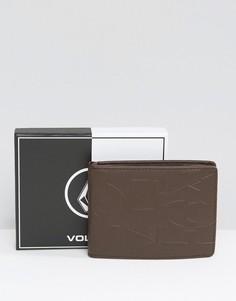 Бумажник Volcom - Коричневый
